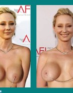 Anne Heche Pierced Nipples Public Fake 001