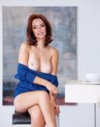 Annie Wersching Breasts Nude Fake 001