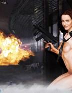 Annie Wersching Nude Body Tits Fake 001