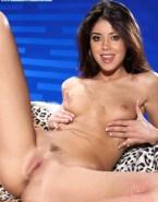 Aubrey Plaza Squeezing Tits Vagina Naked 001