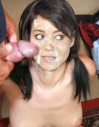 Aubrey Plaza Breasts Cum Facial Naked Sex 001