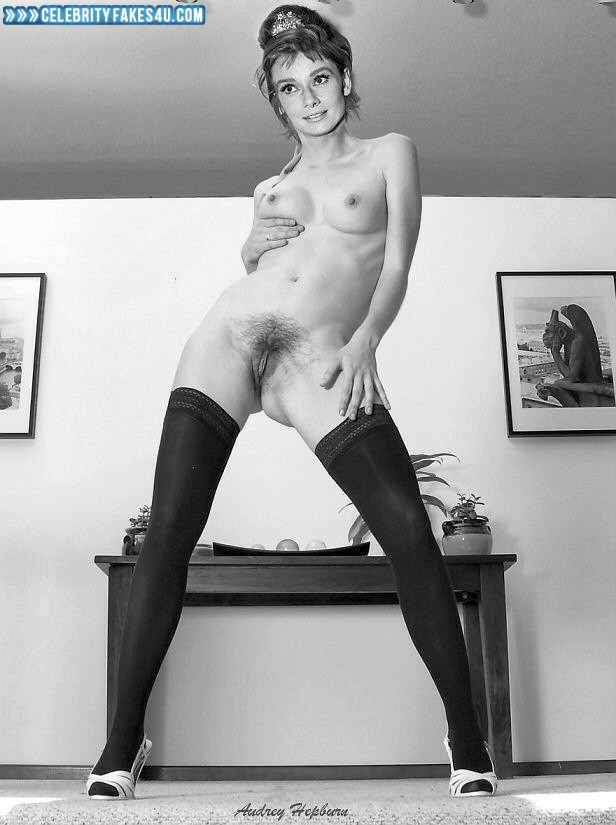 Are Audrey hepburn nude real