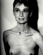 Audrey Hepburn Breasts Homemade Leaked Nude Fake 001