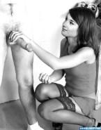 Audrey Hepburn Stockings Handjob Nude Sex Fake 001