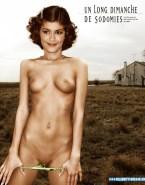 Audrey Tautou Panties Down Naked Body 001