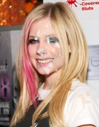 Avril Lavigne Public Facial Cumshot Porn Fake 001