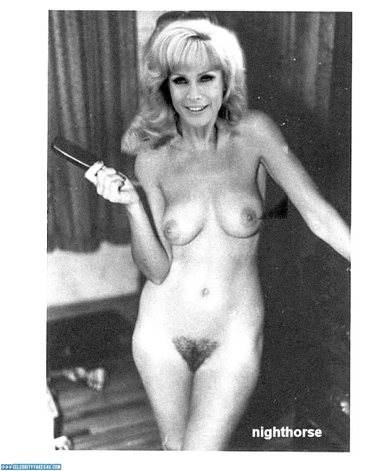 Barbara Eden Fake, Completely Naked Body / Fully Nude, Hairy Pussy, Homemade, Nude, Pussy, Tits, Porn