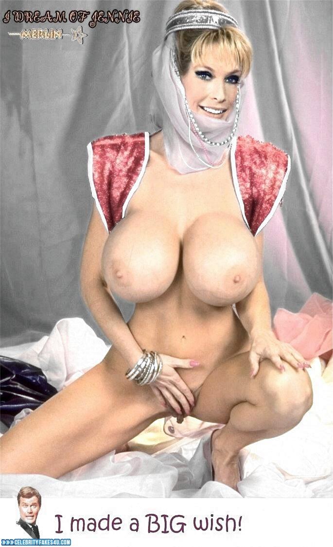 Barbara Eden Kæmpe bryster gnider af vagina porno 001-3427