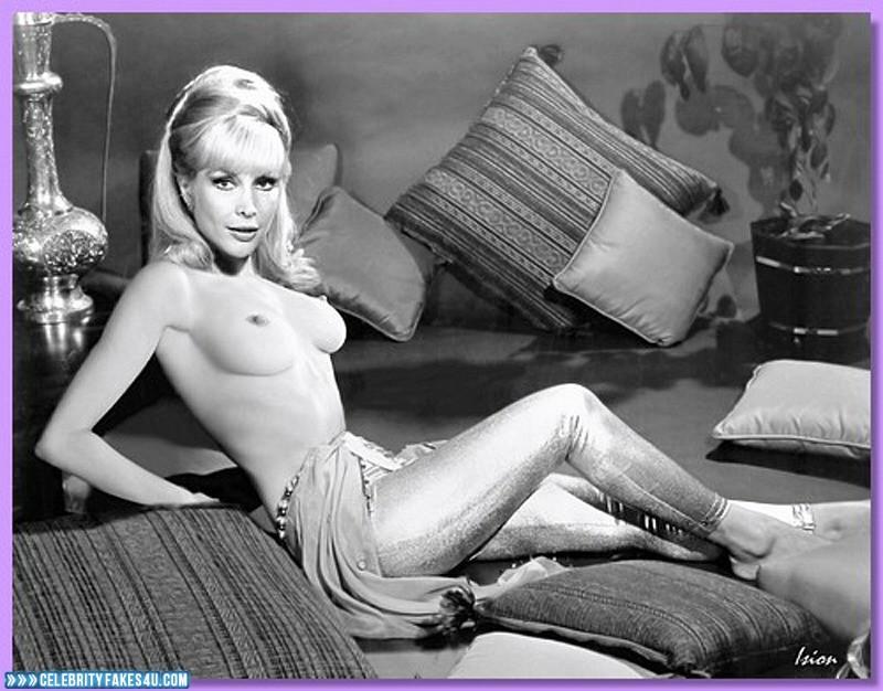 Barbara Eden Fake, I Dream of Jeannie (TV Series), Legs, Nude, Series, Tits, Very Nice Tits, Porn