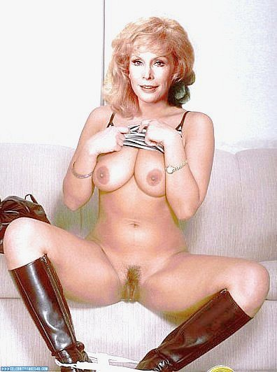 Barbara eden naked leggs open