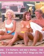 Barbara Eden Topless Beach 001