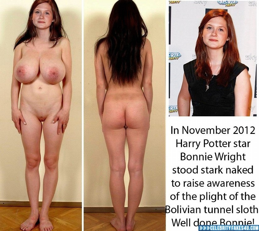 Bonnie wright nude and big tits
