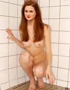 Bonnie Wright Boobs Ginger Fake 001