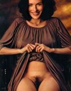 Bridget Regan Hairy Pussy Vagina Upskirt 001