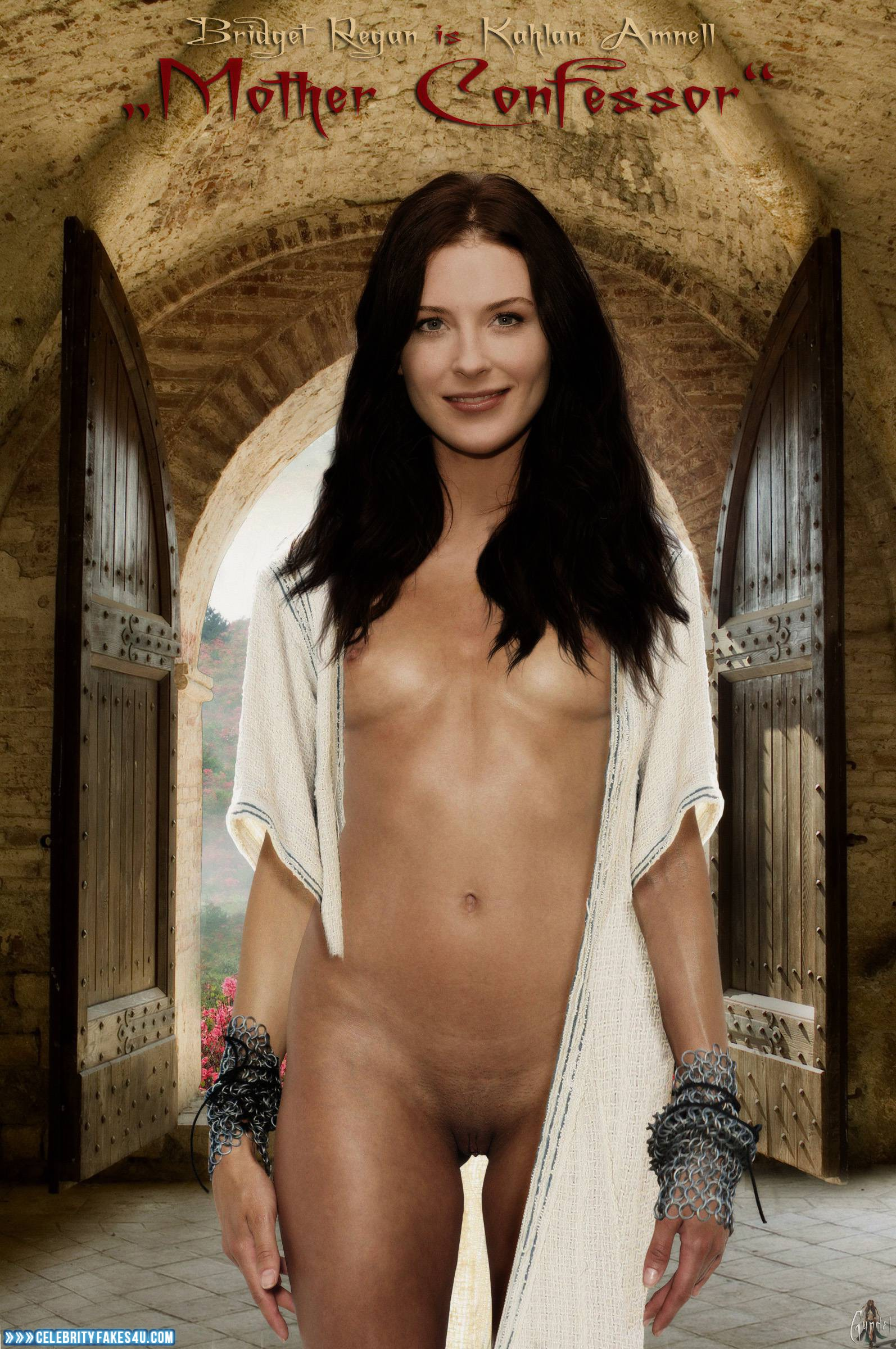 Are not Bridget regan fake nude