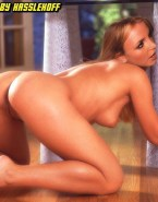 Britney Spears Ass Bent Over Naked 001