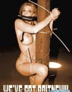 Britney Spears Bondage Public Nude 001