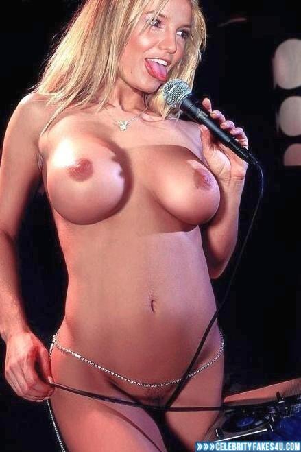 Britney Spears Fake Naked