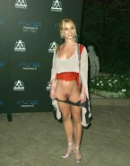 Britney Spears Panties Down 001