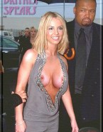 Britney Spears Tits Public Naked 001