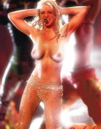 Britney Spears Topless Public 001