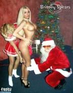 Britney Spears X Mas Panties Down Nsfw 001