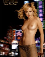 Brittany Murphy Public Topless 001