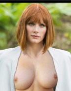 Bryce Dallas Howard Boobs Jurassic Park Naked Fake 001