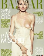 Cameron Diaz Breasts Magazine Cover Porn 001