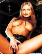 Cameron Diaz Panties Aside Spread Pussy Nude 001