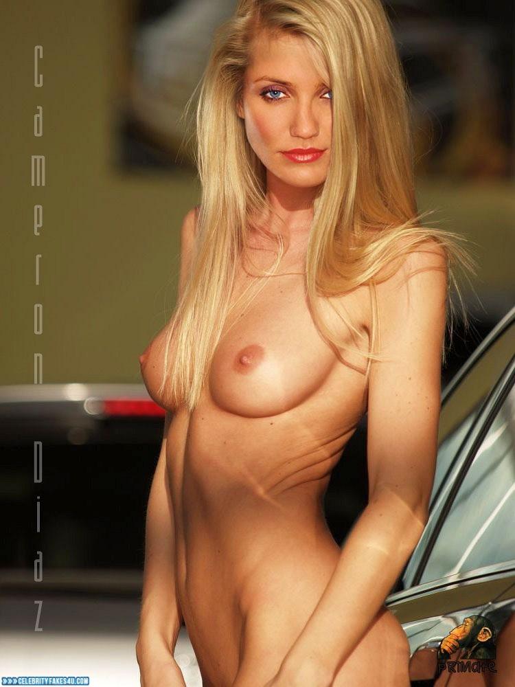 Cameron Diaz Fake, Tits, Very Nice Tits, Porn