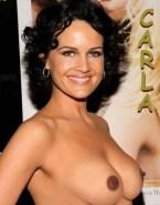 Carla Gugino Perfect Tits Topless Nude 001