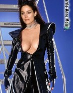 Carrie Anne Moss Breasts Nude 001