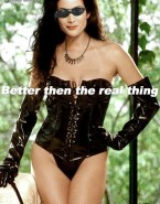 Carrie Anne Moss Hot Outfit Female Domination 001