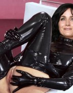 Carrie Anne Moss Latex Spread Pussy 001
