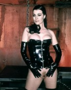 Carrie Anne Moss Pantieless Female Domination Nsfw 001