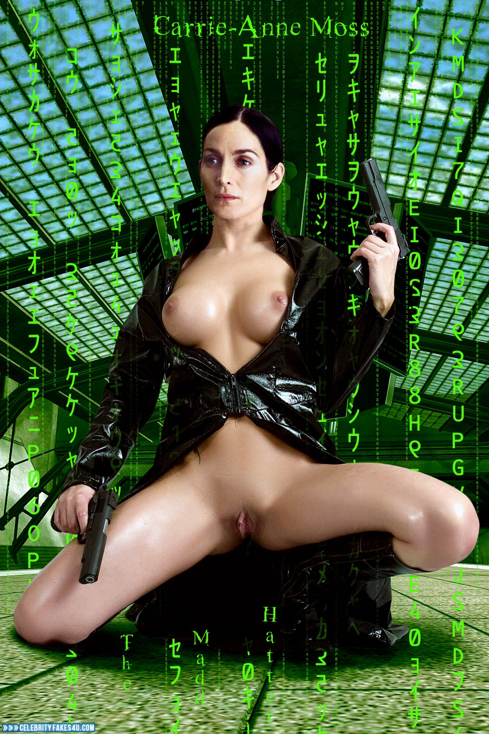 matrix carrie anne moss porno