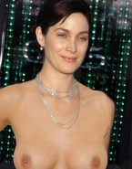 Carrie Anne Moss Topless Public Porn 001