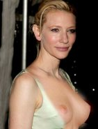 Cate Blanchett Boobs Fake