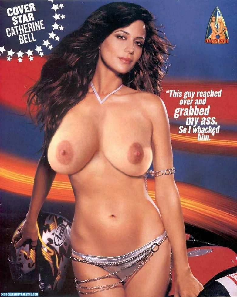 Catherine Bell Fake, Big Tits, Porn