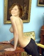 Catherine Bell Sideboob Topless 001