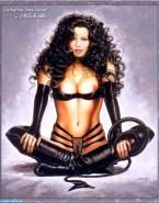 Catherine Zeta Jones Cartoon Lingerie Nsfw 001