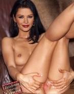 Catherine Zeta Jones Juicy Spread Pussy Nude 001