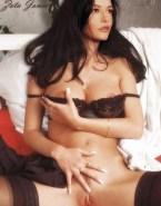 Catherine Zeta Jones Legs Spread Pussy Large Tits Naked 001