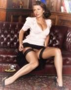 Catherine Zeta Jones Stockings Legs Naked 001