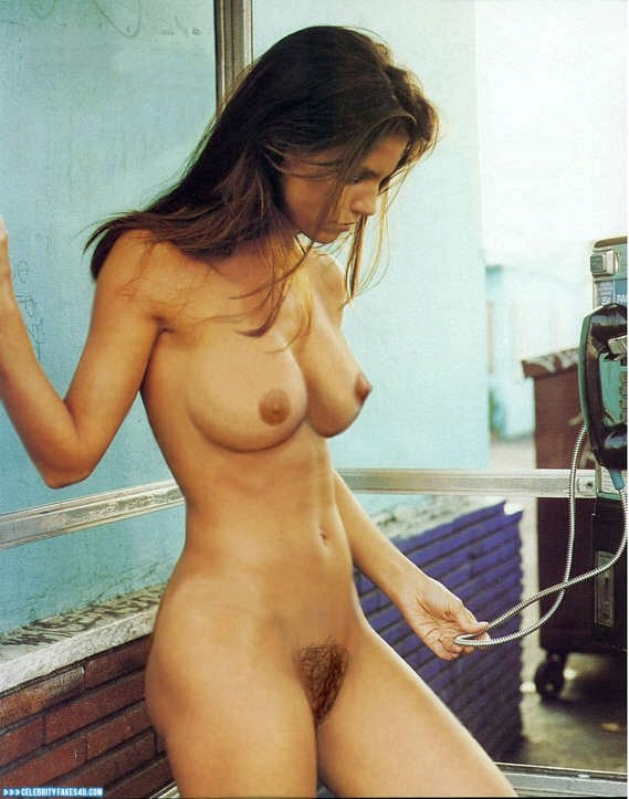 Charisma Carpenter Fake, Completely Naked Body / Fully Nude, Hairy Pussy, Tits, Porn