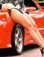 Charlize Theron Bikini Thong 001