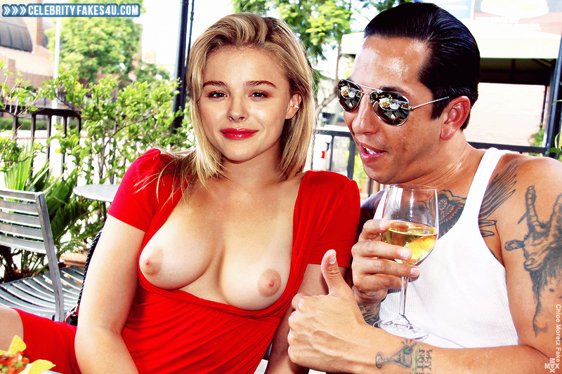 Moretz chloe boobs grace Chloe Grace