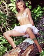 Chloe Grace Moretz Naked Outdoors Fake-006