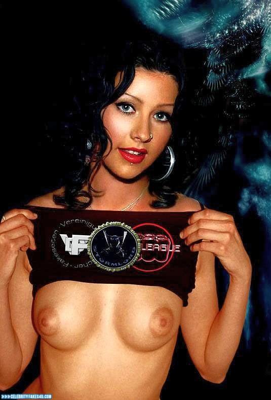 Christina Aguliera Naked Pussy